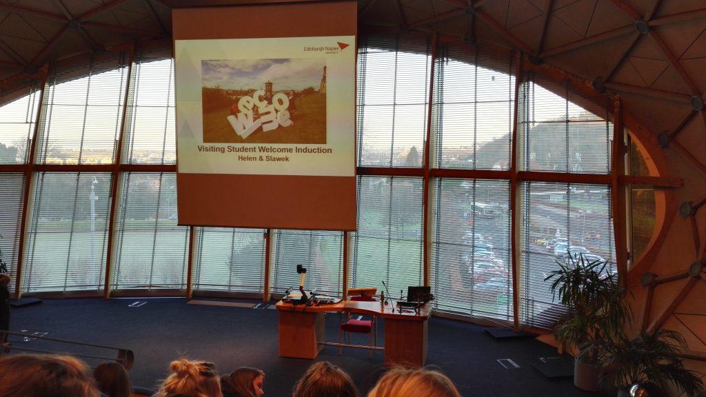 Napier University Lindsay Stewart Lecture Theatre