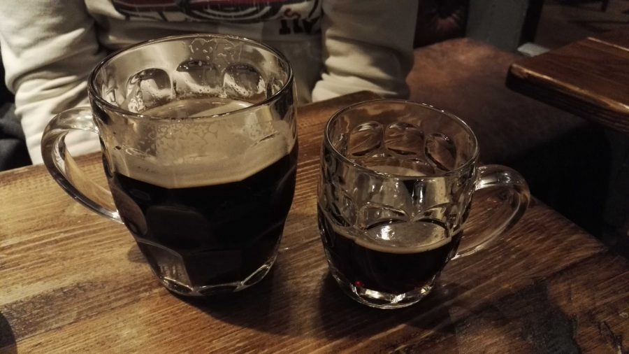 Dark Pint & Half Pint