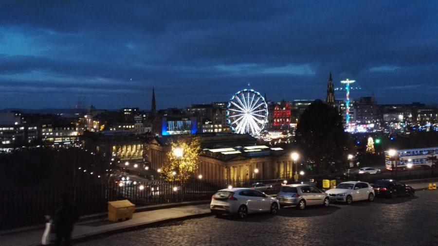 Weihnachtsmarkt in Edinburgh