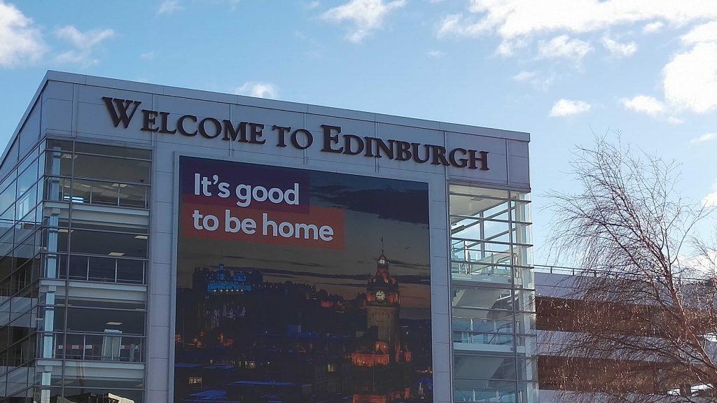 Willkommen in Edinburgh
