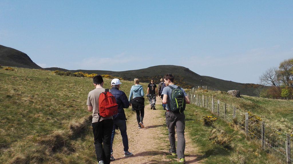 Wanderung Pentland Hills
